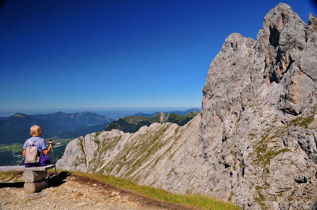resting Karwendel Karwendelblick Karwendelgebirge Mountain Mountain View Relaxing Summer
