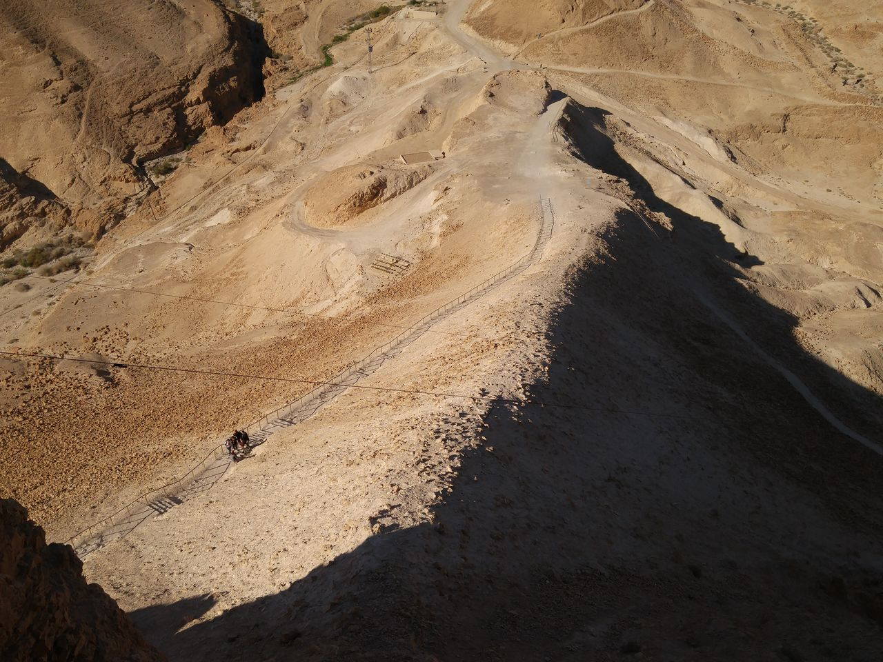 Roman Siege Siege Ramp Israel Roman siege ramp leading up to Masada