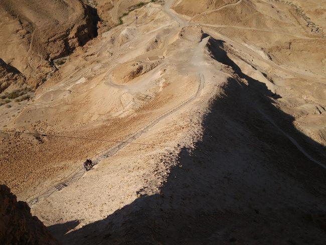Roman Siege Siege Ramp Israel Roman siege ramp leading up to Masada