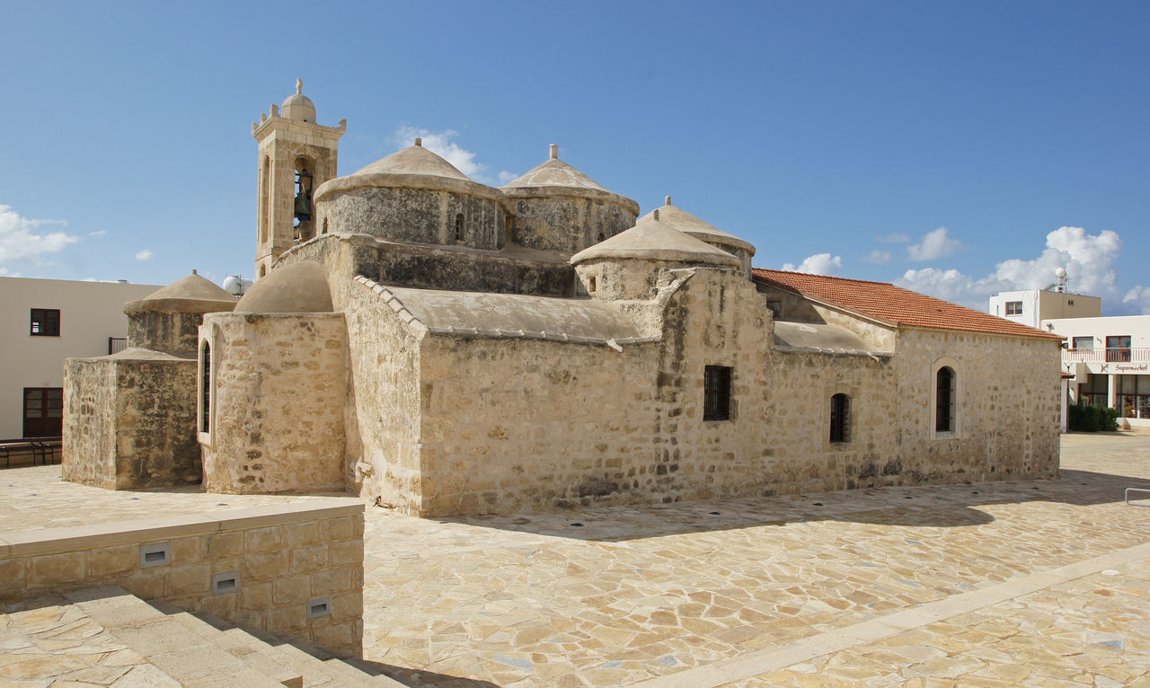 Church, Paphos, Cyprus Ancient Architecture Building Exterior Built Structure Chapel Church City City Cyprus Day Europe History No People Outdoors Panorama Paphos Place Of Worship Religion Religion And Beliefs Sights Sightseeing Tourist Attraction  Town Travel Travel Destinations
