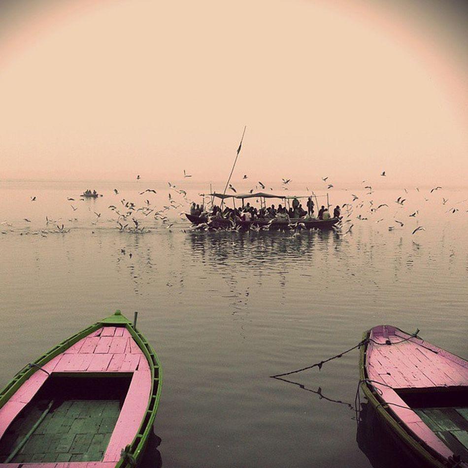 Incredible Incredible_banaras Banaras_morning Pic_of_da_day Pic by Shubham_dubey ... a click by me...