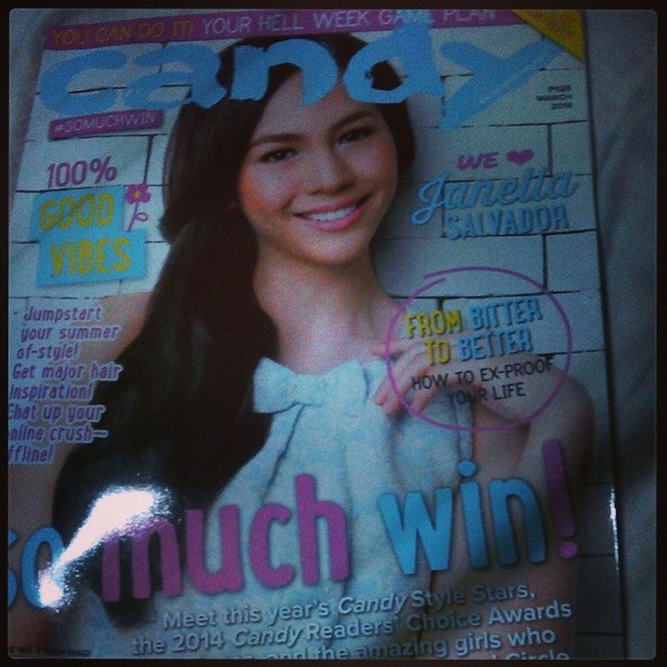 Candy Mag March Issue ! Wish I could learn something from this. :D FromBITTERtoBETTER