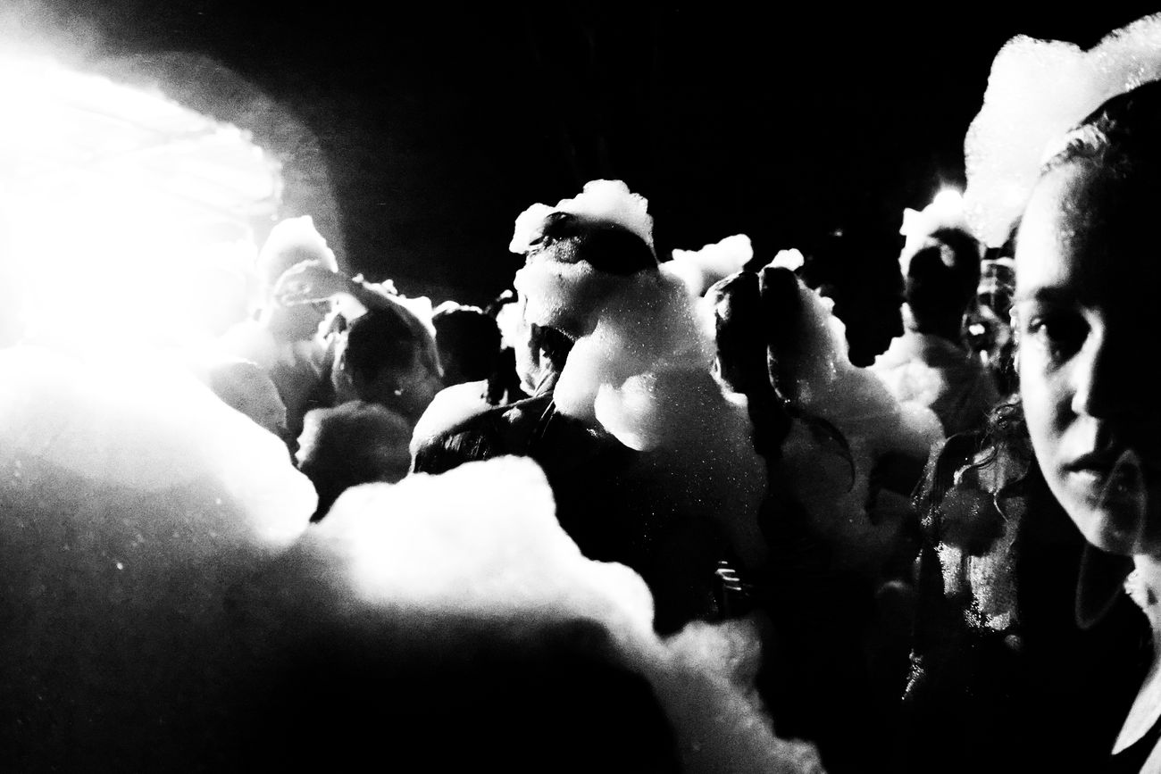 (the foam party, 15) Monochrome_life Foamparty Vicissitudini Black&white Black And White