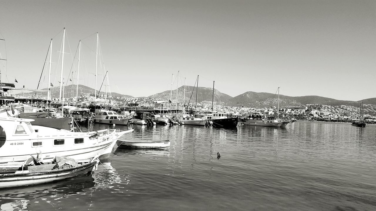 Boat Bodrum, Turkey Boating Dock Boat Dock Boat Tour Off To Sea Holiday Bodrum, Turkey Black And White The Great Outdoors - 2017 EyeEm Awards Live For The Story