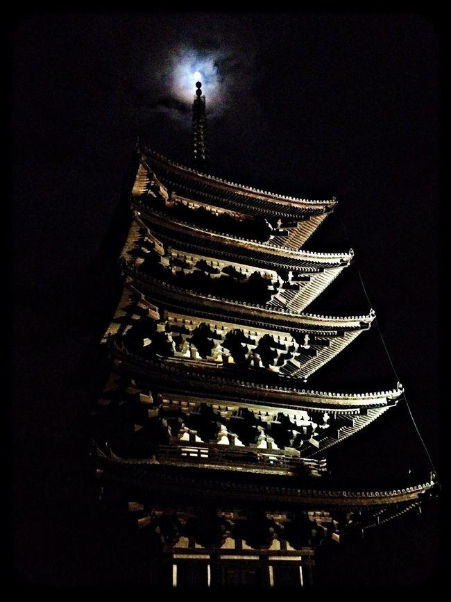 興福寺 五重塔(国宝) The Purist (no Edit, No Filter) Taking Photos IPhoneography Temple