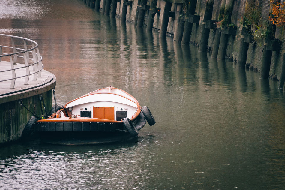 Beautiful stock photos of germany, Absence, Beauty In Nature, Boat, Canal