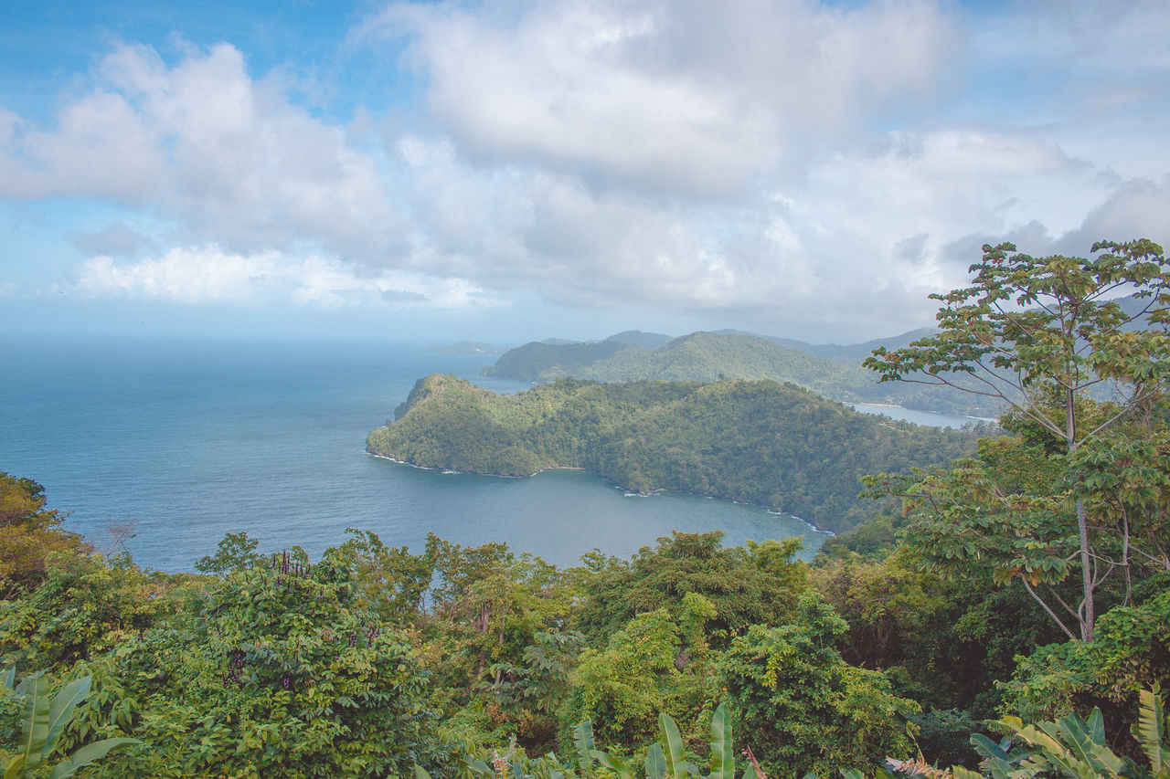Maracas Beach Trinidad And Tobago Beauty In Nature Day Horizon Over Water Maracas Maracaslookout Nature No People Outdoors Scenics Sea Sky Tranquil Scene Tranquility Tree Water Been There.