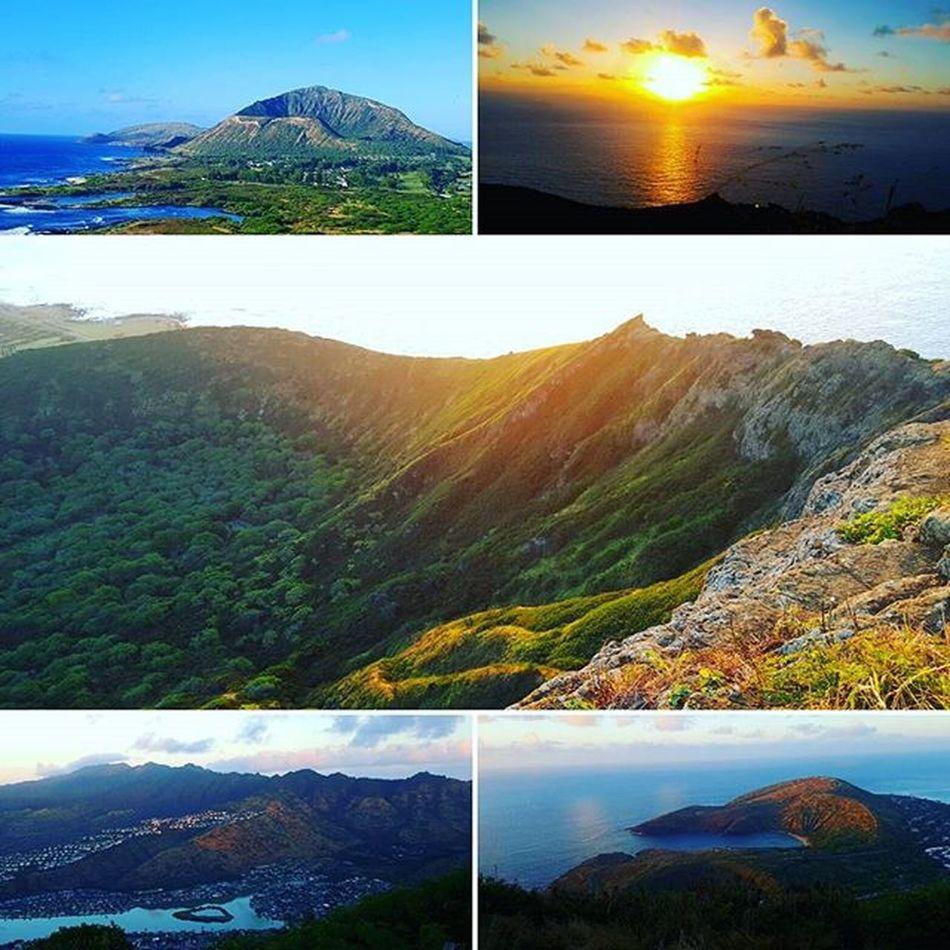 First hike of the year! Kokohead Hawaiikai Hawaii HiLife Hiliving Fitlife Venturehawaii Sunrise Luckywelivehawaii GodIsGood Epichi Niceday Shenanigans Hawaiiunchained