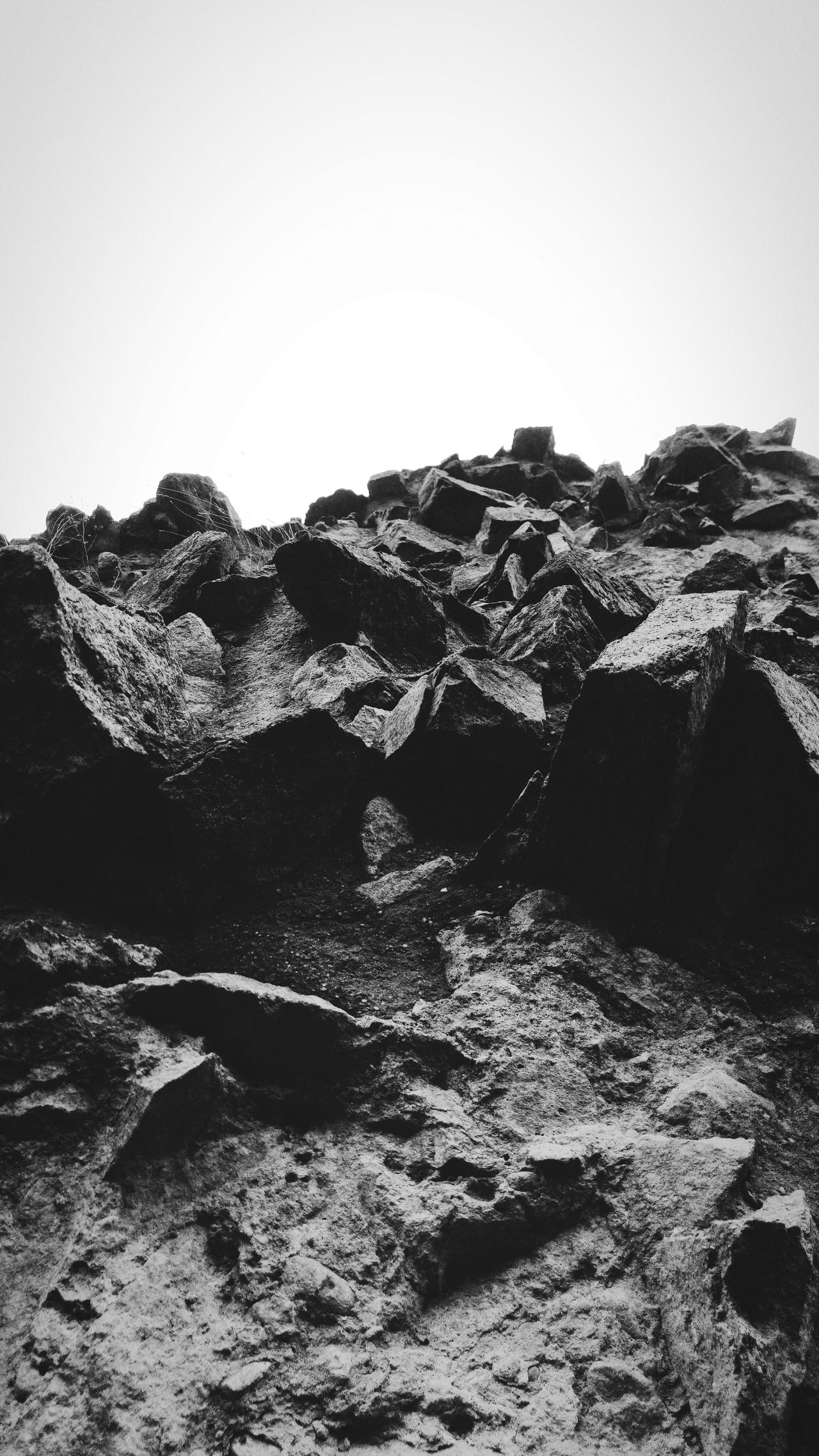 Obsessed with rock shapes... Landscape Social Issues No People Sky Nature Outdoors Day Mountain Beauty In Nature Natural Disaster