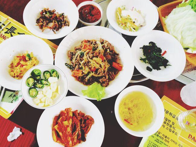 Food Porn Awards Foodporn Korean Food Korea Food Fresh Produce Kimchi @ Dae Jang Geum Restaurant, Bali INDONESIA