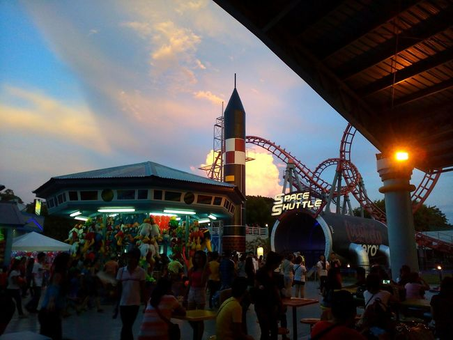Themepark Cloud Cloud Effects Cloudporn Sunset Enjoying The View Taking Photos Eye4photography  EyeemPhilippines Blue Wave