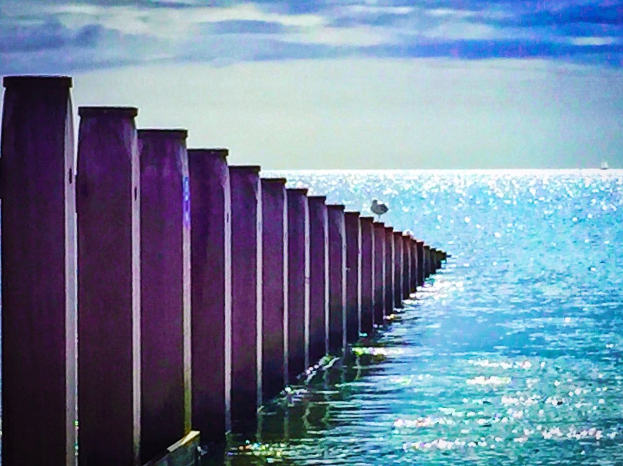 Groynes reaching out into the sea at Dawlish Warren beach in Devon. Beach Sea Groyne Groynes Groin Seaside Coast Sea Defence Coastal Defences Coastline Sea Sky Tranquility Tranquil Peaceful Holiday Seascape Dawlish Warren Devon