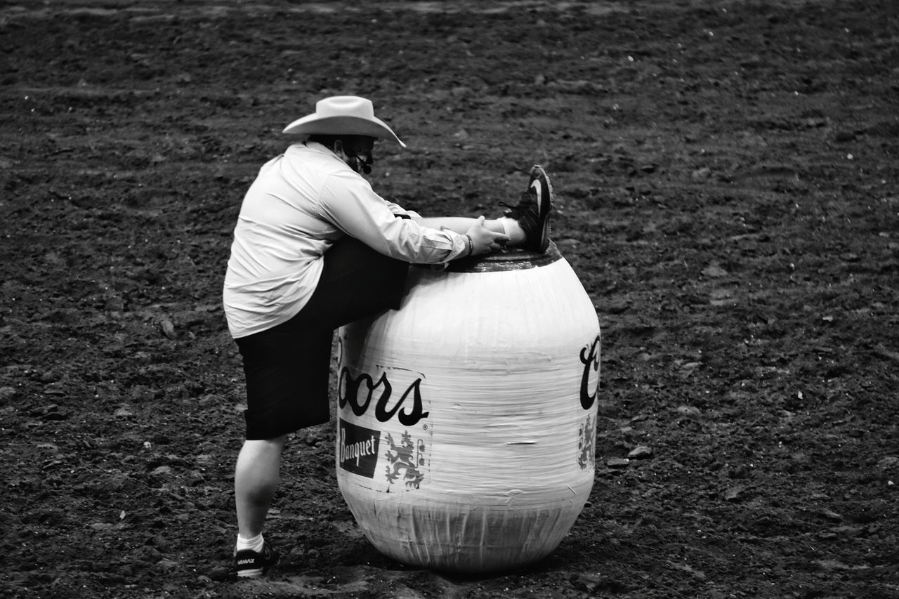 Black And White Collection  Black & White Photography Rodeotime Rodeo San Angelo Texas Black And White Collection! EyeEm Gallery Eyeemphotography Texas Photographer This Week On Eyeem Bull Riding/rodeo Rodeo Clown