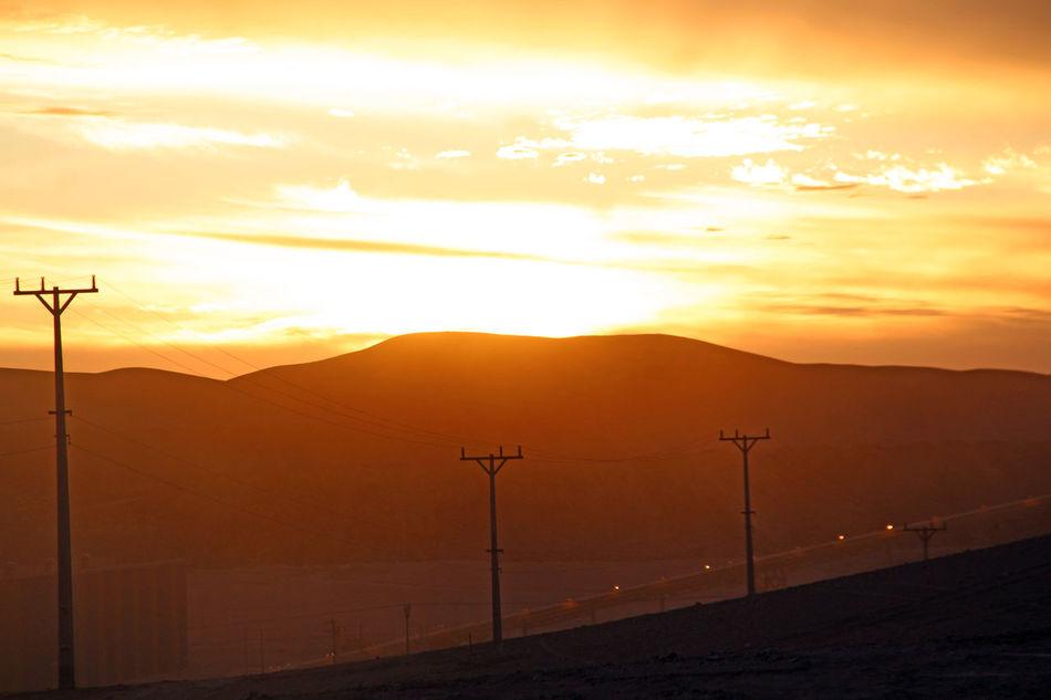 Atardecer Chile Desierto De Atacama Mining Paisaje Sun Sunset #sun #clouds #skylovers #sky #nature #beautifulinnature #naturalbeauty #photography #landscape