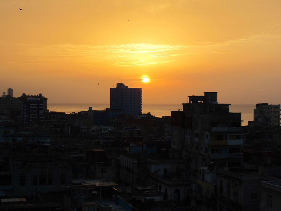 The most spectacular sunset in the old city Sunset Cuba Original Experiences Travel Destinations Travel Hanging Out Showcase June Fine Art Photography