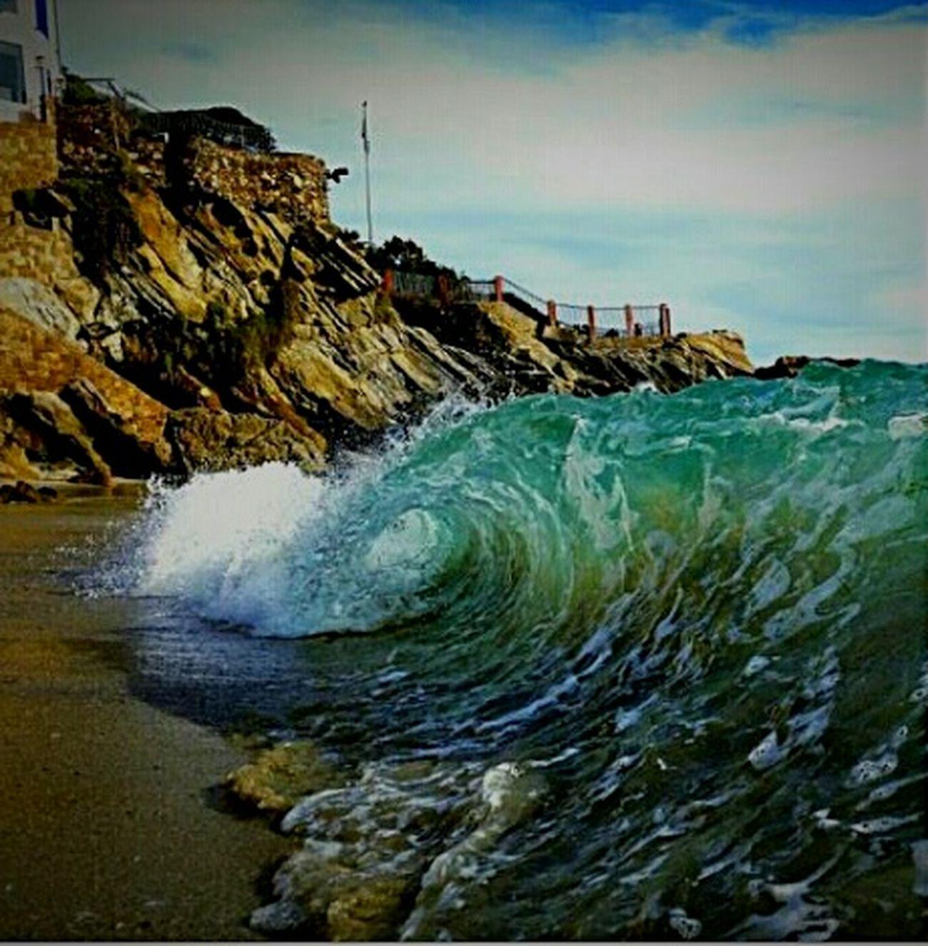 Beachphotography Waves Inthecurl Laguna Beach Woods Cove
