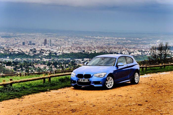 BMW1 Estoril Blue Vuesurlyon Lyononly Lyon France Mylyon Bmw F20 MeinAutomoment