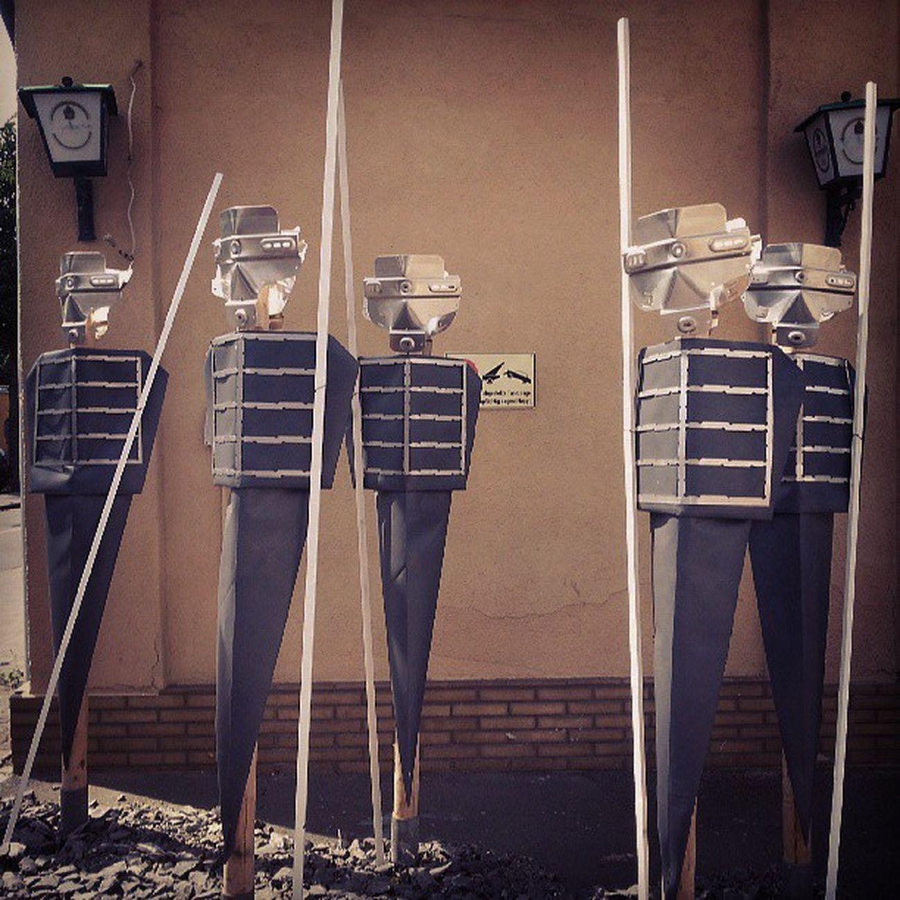 Soldaten oder Ritter oder so... Kunst halt