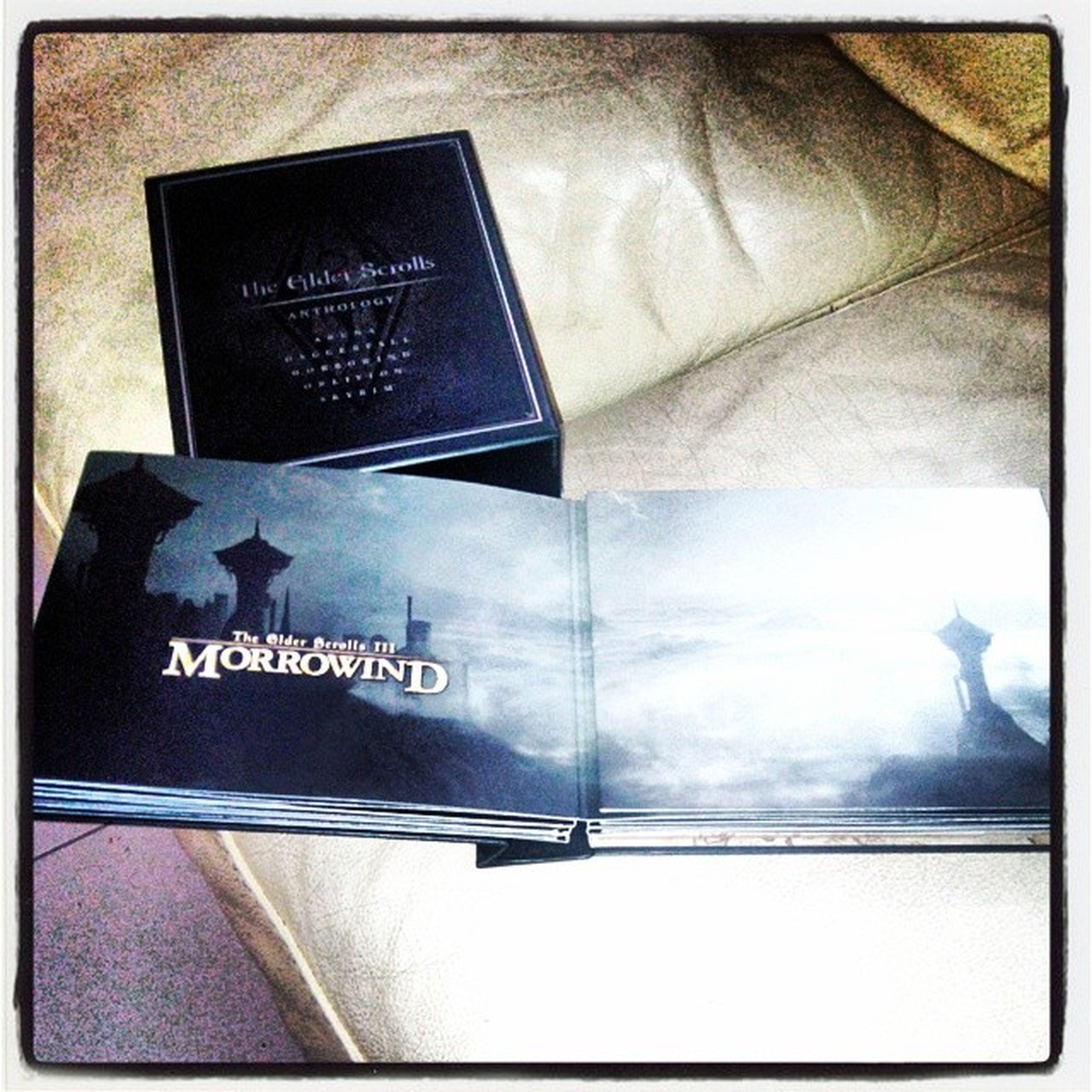 Game Theelderscrolls Anthology coffret intégrale Arena daggerfall morrowind oblivion skyrim