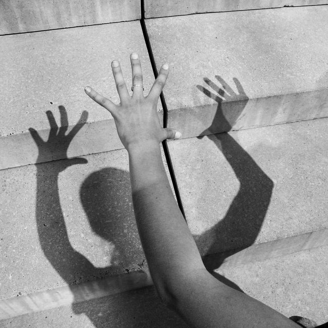 You & You Shadow Hands Human Body Part One Person Low Section People Schattenspiel  Abstract Lines, Colors & Textures Flyfish Album Film Imagination EyeEm Best Shots EyeEm Masterclass Fantasy Dreaming Black & White