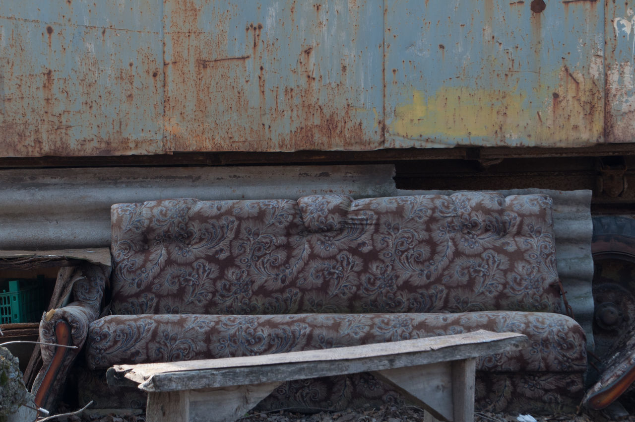 no people, rusty, day, outdoors, industry, factory, close-up
