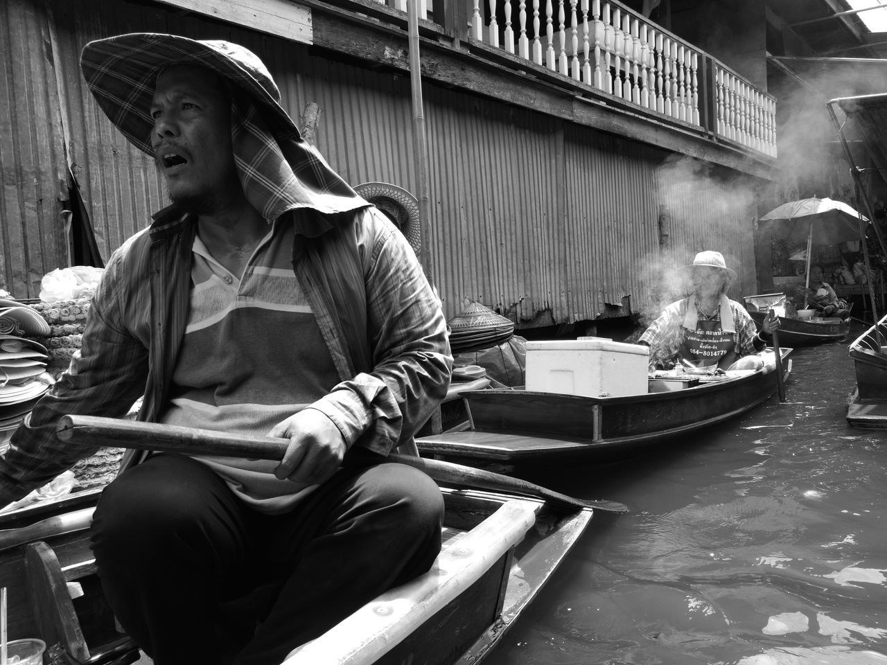 The boatman Boatman Rivermarket People Bangkok Thailand Bangkok Streetphotography Street Photography Streetphotographer Streetphotography Street EyeEm Best Shots - The Streets Real People Eyeemphotography Blackandwhite Black And White Blackandwhite Photography Black And White Photography Blackandwhitephotography Monochrome Monochrome Photography EyeEmBestPics EyeEm EyeEm Gallery EyeEm Best Shots