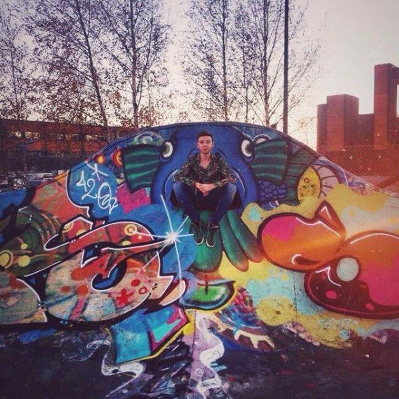 Helsinki Still Eramus Tag Tags Grafitis Skate Park Sunset Bzh FR Finland