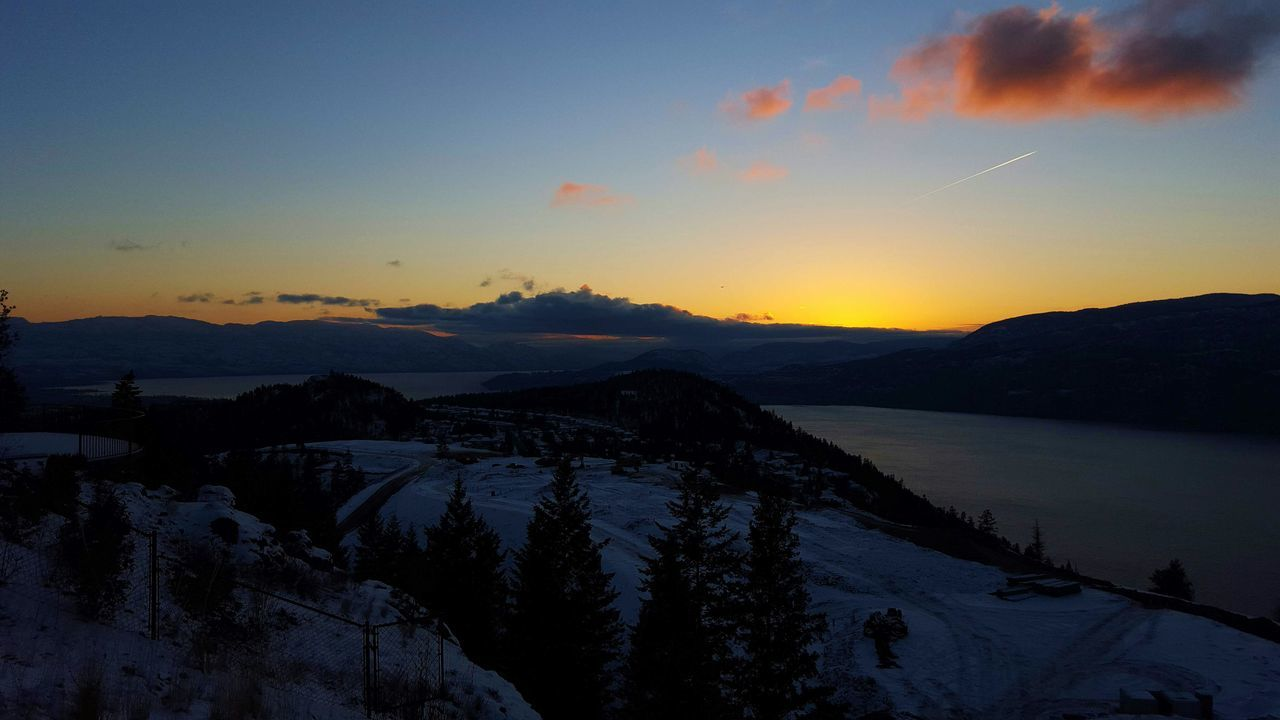 Natural Beauty Kelowna Sunset Okanagan Valley Fire In The Sky Rich Colors True Beauty Majestic Nature Nature Lake View Lake Landscape Landscapes Landscapes With WhiteWall