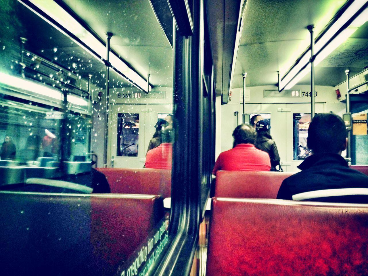 City Subway Sub Urban Frankfurt City life