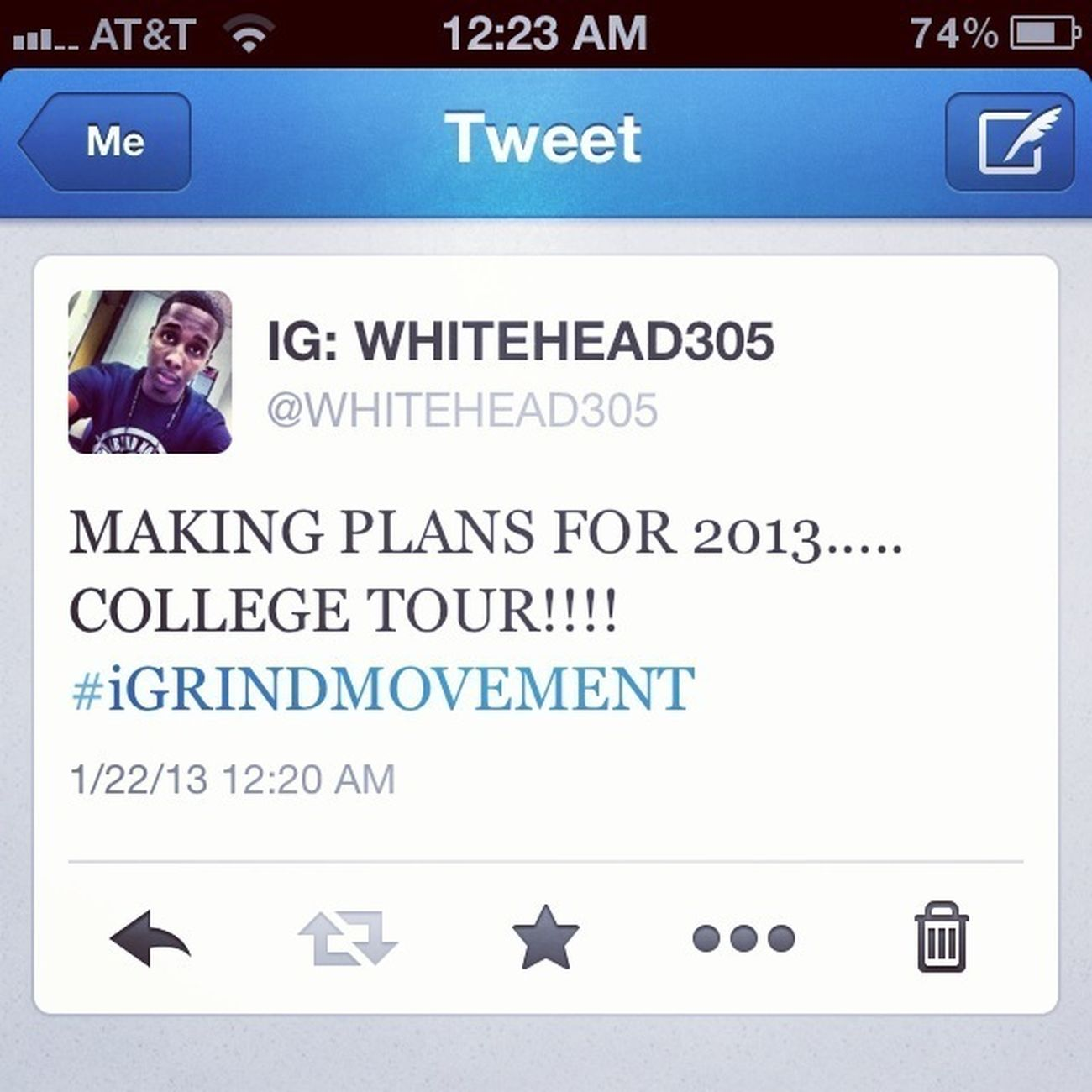 2013..... LOOKING GOOD!!! #iGRINDMOVEMENT