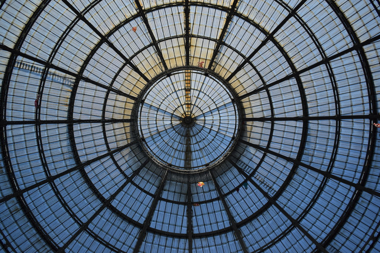 Pattern Full Frame Backgrounds No People Built Structure Low Angle View Architecture Day Indoors  Circle Milan Milano Representing Glass Glass - Material Old Buildings Clock Face Light And Shadow Station Vintage Photo Monuments Night Planet Earth Old Monument EyeEmNewHere Adapted To The City
