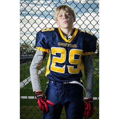 As outdoor sports season begins why settle for the same old boring sports portrait. Contact Mjsphotographics to see how we can work together to create a dramatic and intense sports portrait of your child. Yqr Regina Saskatchewan sportsphotography football