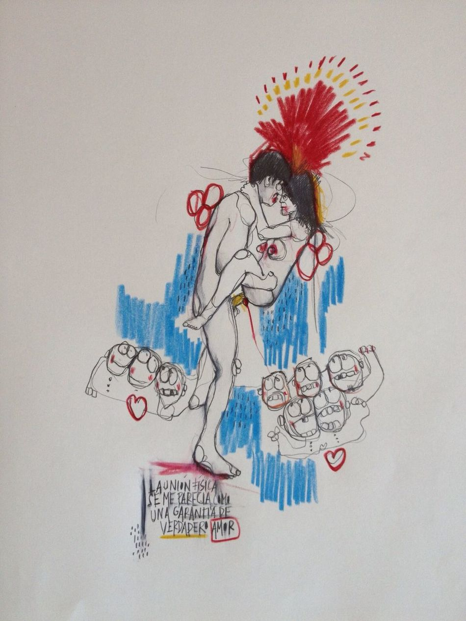 ...la unión física se me parecía una garantía del verdadero amor... El Túnel de Sabato. www.algunasplantasrars.com