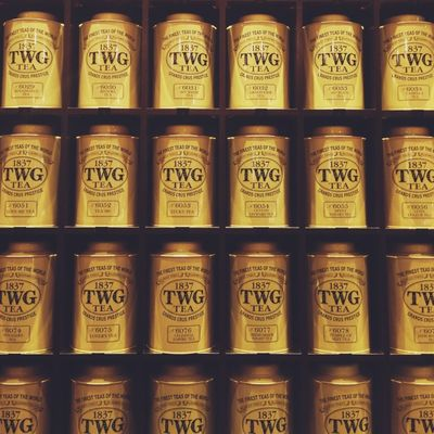 Tea at TWG Tea Salon & Boutique by Fiona Ayesha