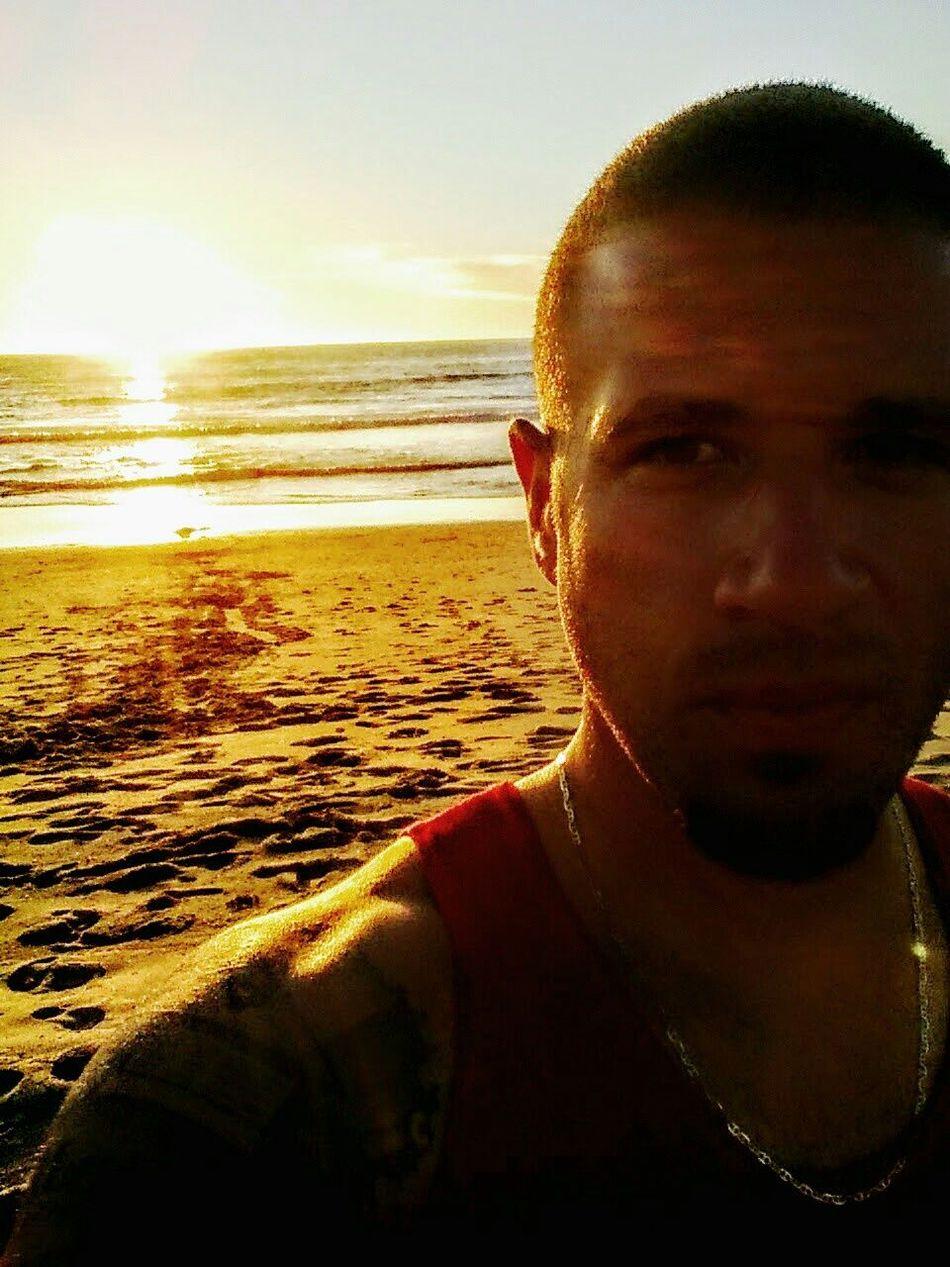 Beautiful LA Sunset Hello World That's Me