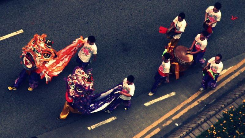 Asian Culture DailyLifeOfStrangers Streetphotography Aerial Shot Finding New Frontiers Miles Away Carnival Crowds And Details