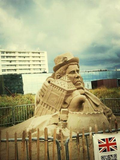 The EyeEm Facebook Cover Challenge Enjoying The Sun Sandcastles Hello World