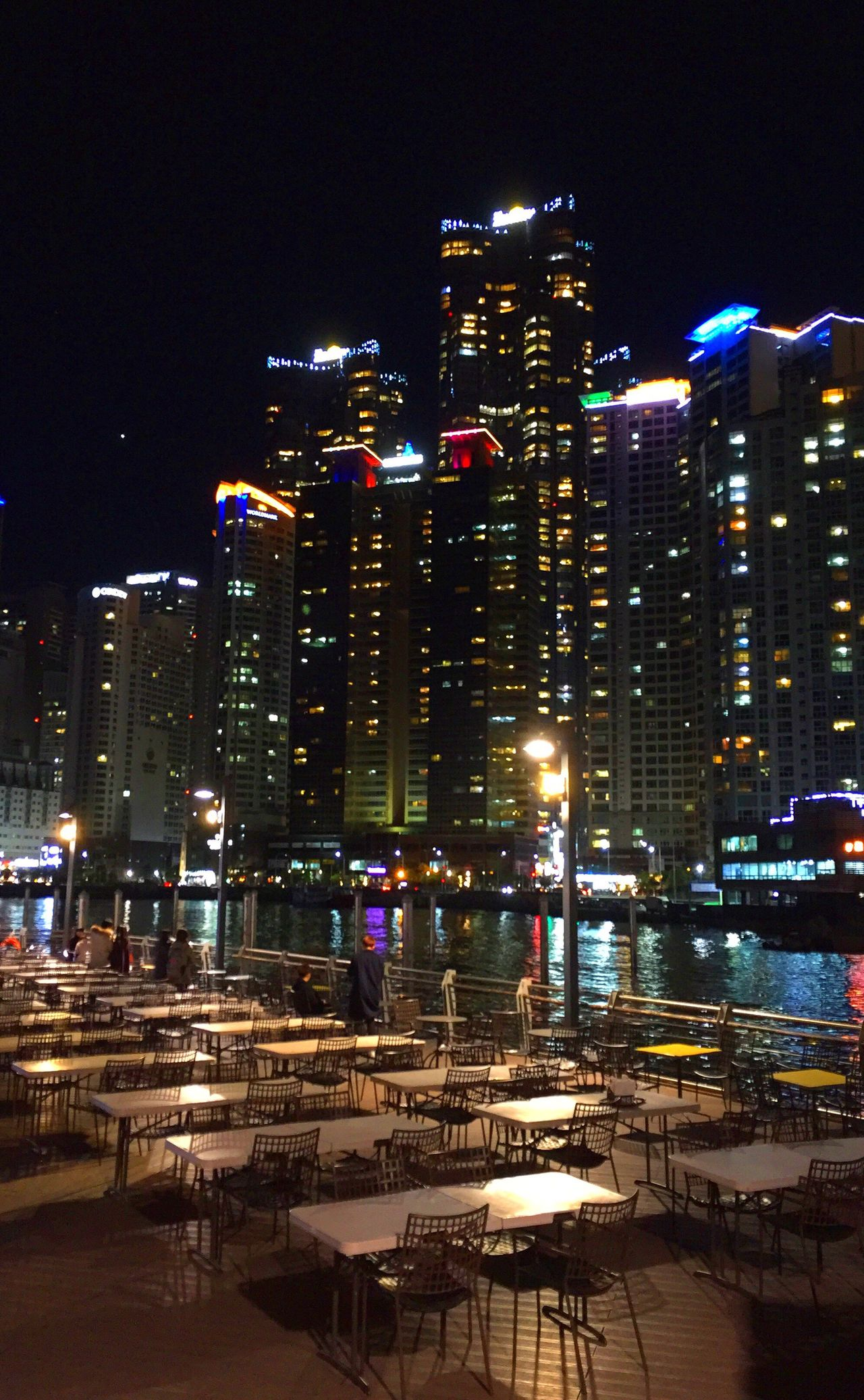 Night South Korea Haeundae