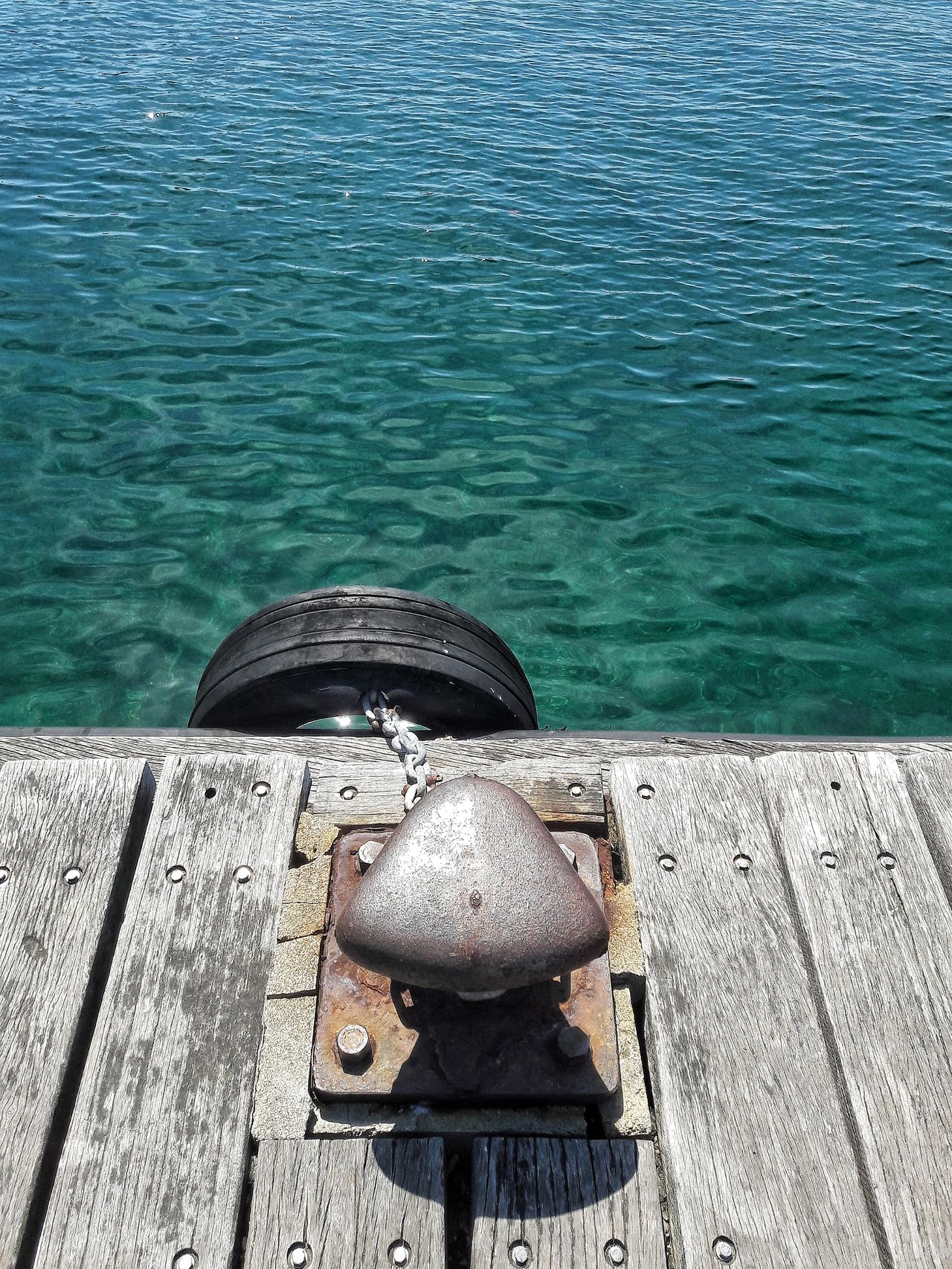 Water High Angle View Day No People Sunlight Outdoors Nature Shadow Tranquility Sea Beauty In Nature Pier Sailing Holiday Tyre Vacation Departure Leaving Wood Bollard Mooring