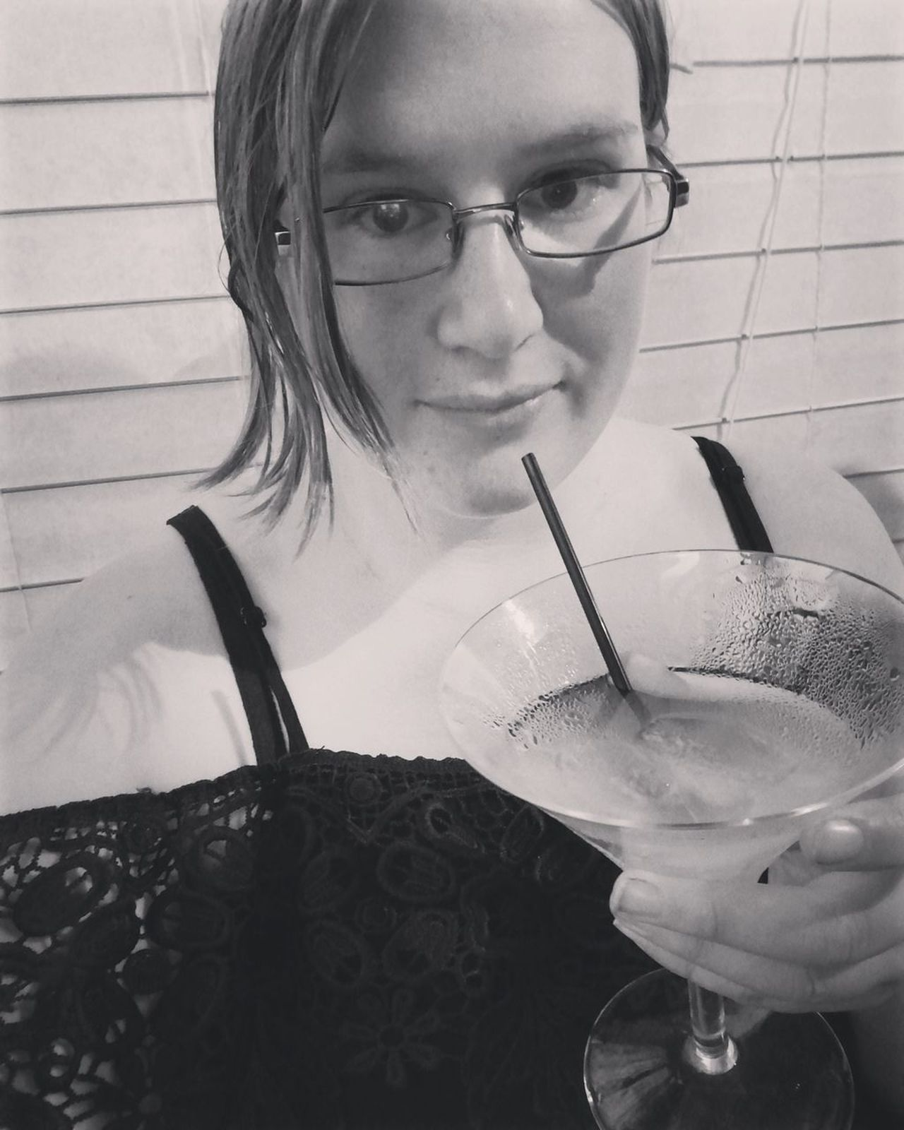 Drink Looking At Camera Portrait Drinking Straw Drinking Glass One Person Close-up Women Human Face Cocktails🍹🍸 Relax❤️ Selfie😎 Me :)  Woman Portraits BlackDress Bkackandwhite