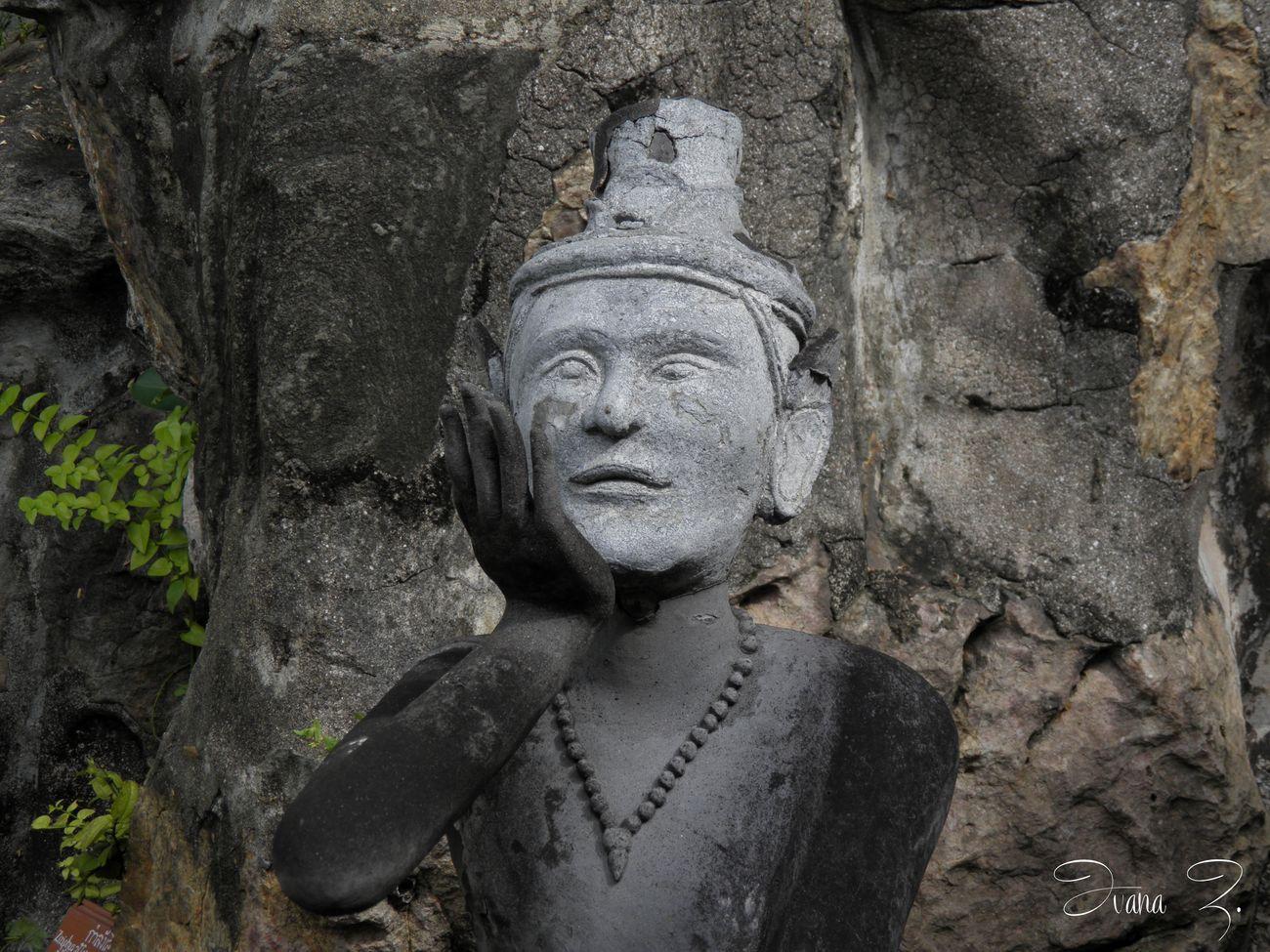 Statue Sculpture Religion Thaïlande Bouddha Statue Bouddha Temple First Eyeem Photo