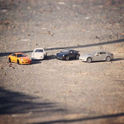 my cars.. Porsche Carrera Turbo Panamera 924 modelcar model car