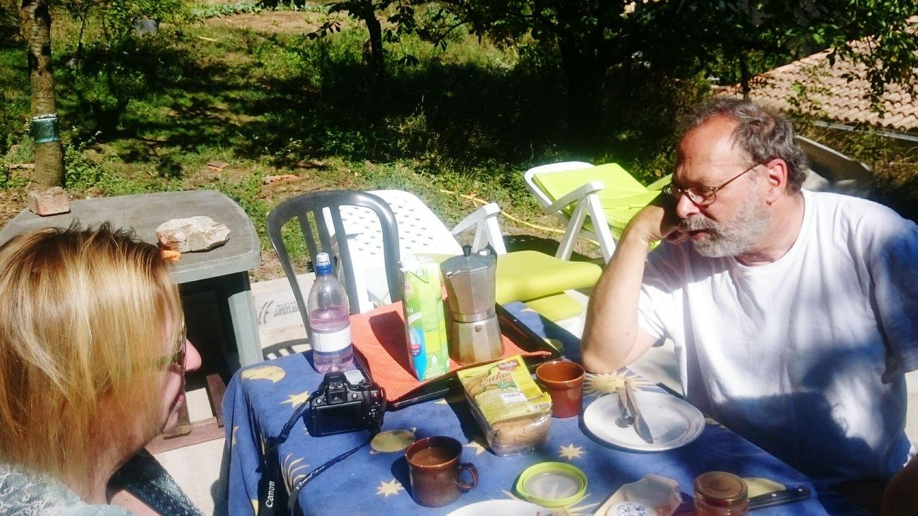 Petit dejeuner sur l'herbe. Saint-Etienne-Estrechoux