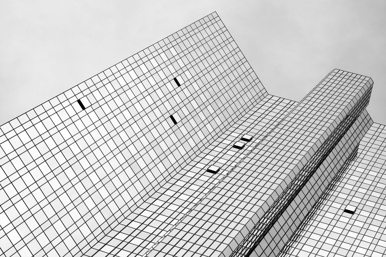 Abstract Architecture Blackandwhite Building Exterior Built Structure Façade Low Angle View Minimalism Simplicity Skyscraper