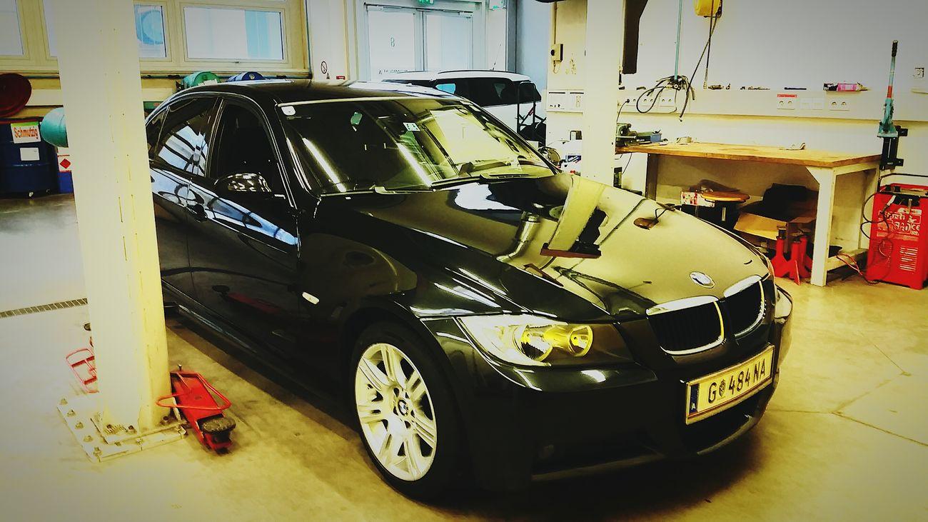 the new one ♡Mycar<3 Bmw I ♥ It Bmwlove BMWmpower Bmwe90 Working Place Carcleaning BlackPearl Lovemycar