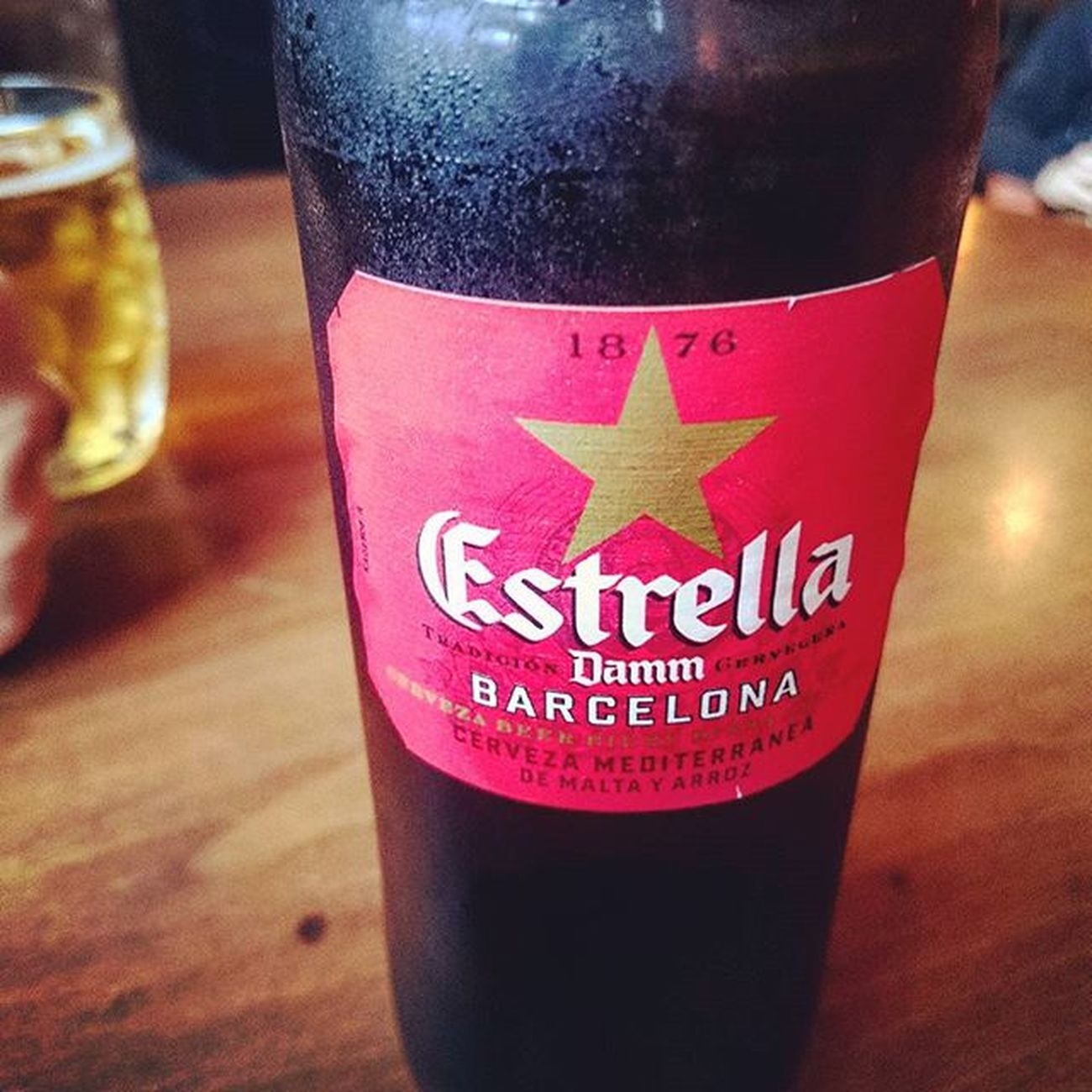 Estrella time... Estrella Beer Beverage Drink Hermitagerd Hermitageroad Hitchin Weekend