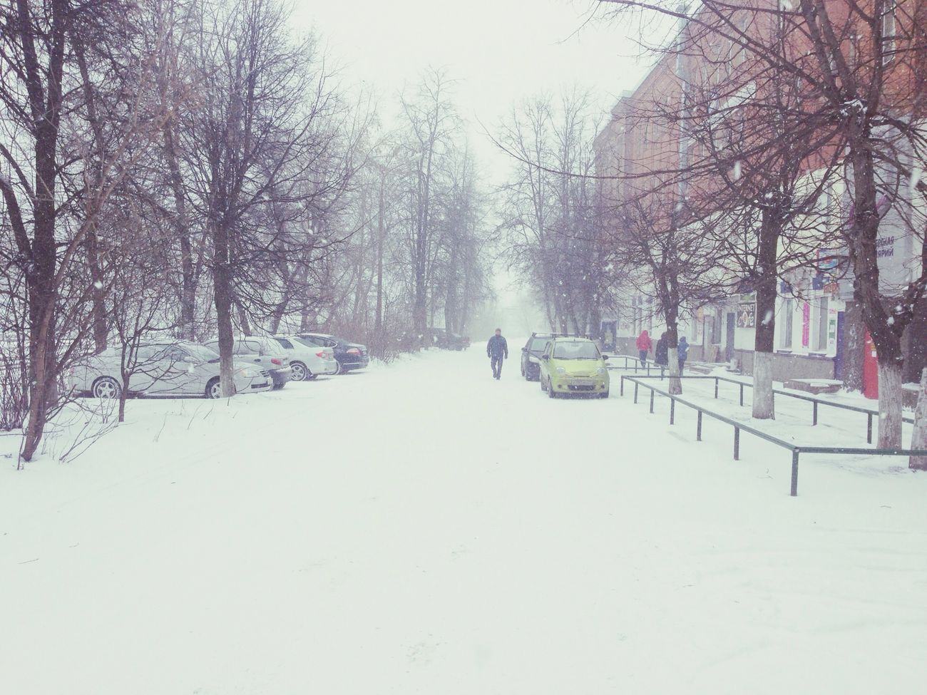 1 April 2014 in Russia Russia Winter Snow Fool's Day