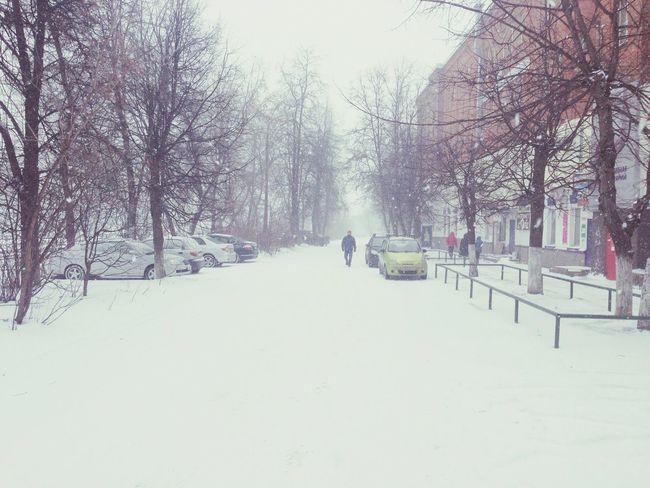 1 April 2014 in Russia Russia Winter Snow Fool's Day