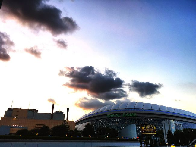 Tokyo Dome City Beautiful Sky Tokyo Beautiful Day Cityscapes Clouds And Sky Beautiful View Sky And Clouds Sky_collection Skylovers Sky_ Collection Tokyo,Japan Blue Sky Evning Sky Evning EvningGlow Evningsky Evning View Evning Sun Evnin Sky