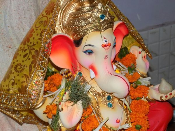 Hello World God Is Great Lord Ganesha Peace And Love